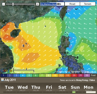 07.26 forecast swell Sunday